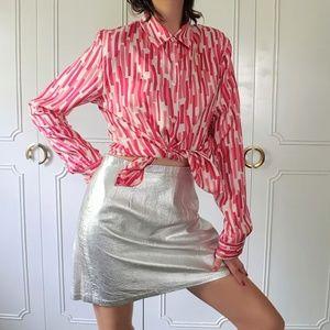 Vintage Michael Kors Italian silk blouse